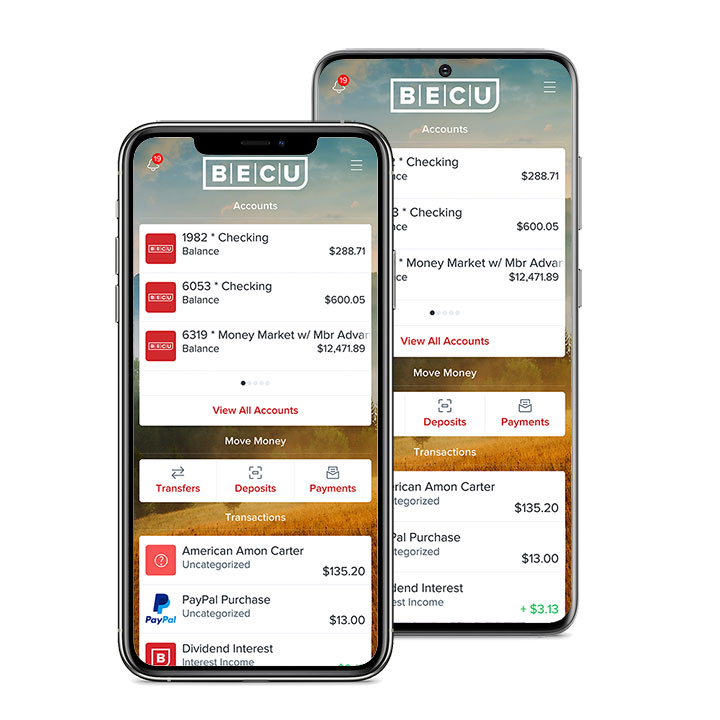 Bank at Home Mobile App