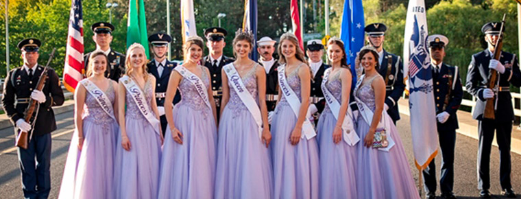 Spokane Lilac Princesses