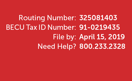 TurboTax Account Numbers