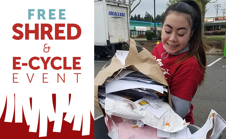 Shred and e-Cycle Event | BECU